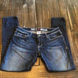 People's liberation skinny jeans Sz 28